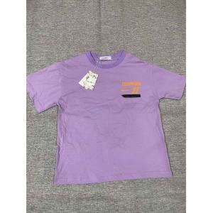 Bcvibvf  Children's short sleeve T-shirt purple