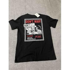 APQAIKV   Children's black short sleeve t-shirts