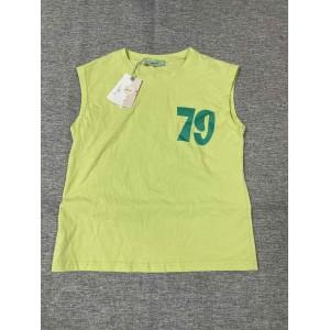 Adviicd Children's sleeveless T-shirt green vest