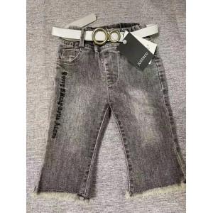 JQUEBGU Children's jeans belt trousers