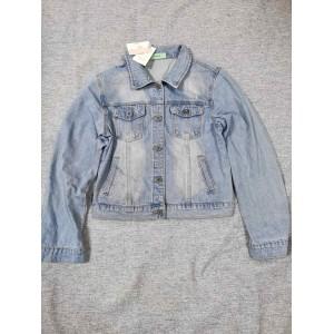 Adviicd Girls short denim jacket