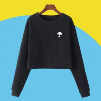 Amazon express new long sleeve printed sweater wom...